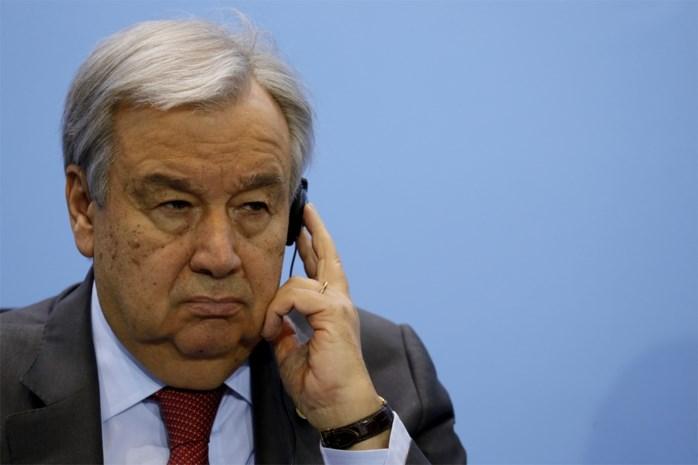 """VN-baas waarschuwt voor """"vier gevaren"""" die bedreiging vormen voor vooruitgang in de wereld"""