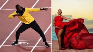 """Usain Bolt wordt voor het eerst vader: """"Er is een nieuwe koning of koningin op komst"""""""