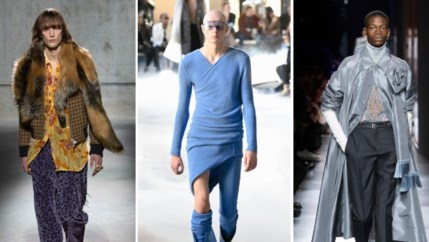Vijf hoogtepunten van Paris Fashion Week voor mannen