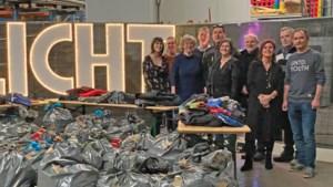 Sint-Truiden schenkt 3500 kinderkledingstukken aan het goede doel