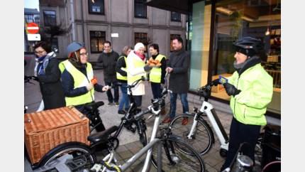 Alle werknemers met de fiets naar Vormingplus