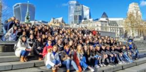 Vierdejaars Sint-Martinusscholen dompelen zich onder in Londense diversiteit