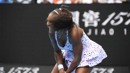 Verrassende exit Serena Williams op de Australian Open