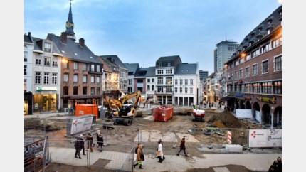 Laatste terrassen op Grote Markt weggehaald