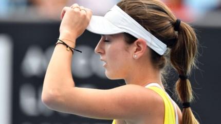 """Catherine Bellis beducht voor match tegen Elise Mertens: """"Ze is een uitstekende speelster"""""""