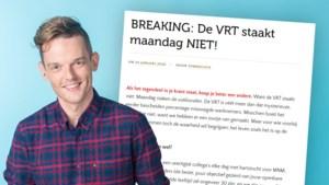 MNM-dj Tom De Cock haalt fel uit naar stakende vakbonden VRT in open brief