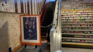 UPDATE. Dubbele voetbreuk voor jongen die klem geraakt in Hasseltse stationsroltrap