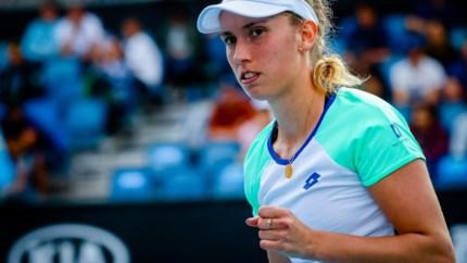 Elise Mertens plaatst zich voor derde ronde dubbelspel