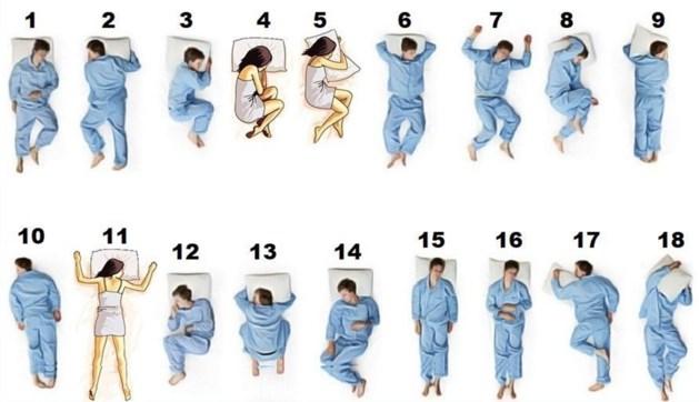 Verhitte discussie op sociale media, maar wat is nu écht de beste slaaphouding?