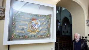 Vaandel Royal Air Force uit Gellik prijkt op lijst Vlaamse Topstukken