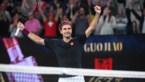 Weer record voor Federer