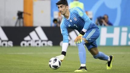 Genk verlaat piste Iraanse doelman