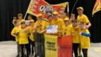 Leerlingen uit Herk-de-Stad plaatsen zich met LEGO-robot voor wereldfinale