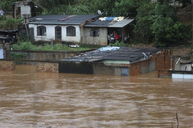 Al minstens 11 doden en 16 vermisten door noodweer in Brazilië