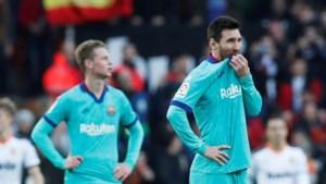 Setién lijdt bij Valencia eerste nederlaag als Barcelona-coach