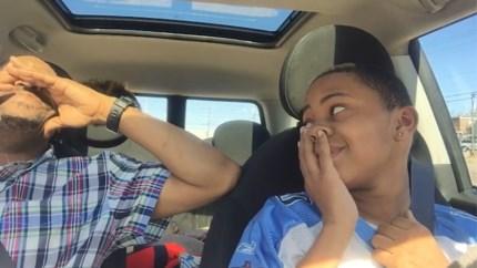 """Autoritje van beginnende bestuurder loopt niet zoals gepland: """"Ik wist niet wat ik deed"""""""