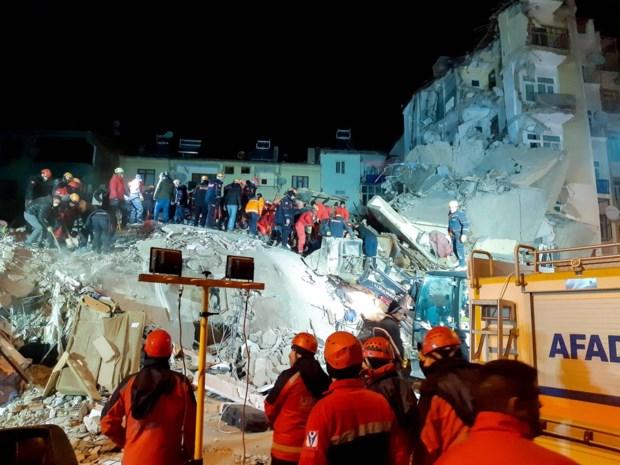 Dodental na aardbeving in Turkije stijgt naar 31, meer dan 1.600 gewonden