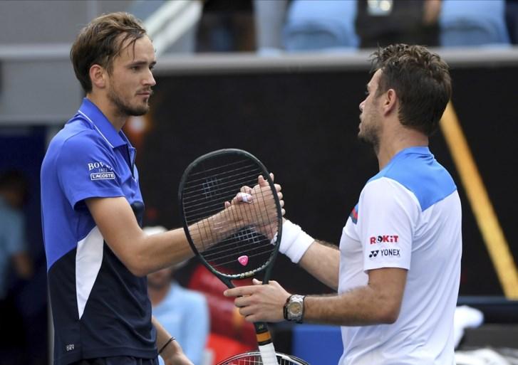 AUSTRALIAN OPEN. Wawrinka schakelt Medvedev uit, Thiem haalt voor het eerst kwartfinales