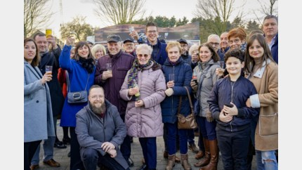 Grote overrompeling op eerste nieuwjaarsreceptie Beringenaren