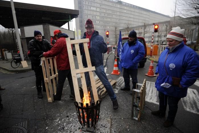 """Vakbonden spreken van """"geslaagde stakingsdag"""" bij VRT, en sluiten nieuwe acties niet uit"""