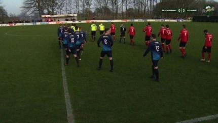 VIDEO. Mooie doelpunten en opstootjes: dit was het weekend op de Limburgse voetbalvelden