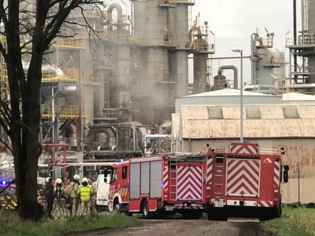Brand in pijpleiding chemiebedrijf Vynova