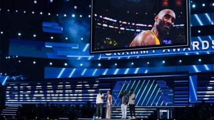 Grammy Awards in basketarena LA Lakers vol eerbetonen aan Kobe Bryant