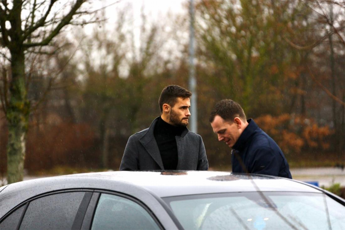 Thomas Didillon onderhandelt in Luminus Arena met KRC Genk