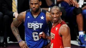 """LeBron James reageert na dood Kobe Bryant: """"Mijn hart is gebroken"""""""