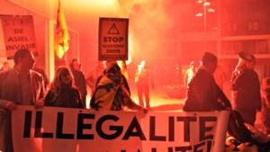 150 actievoerders tegen asielcentrum in Lommel