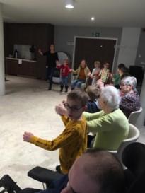 Gedichtengymnastiek in WZC Ter Rooierheide