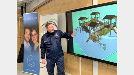 Stichting slachtoffers gasontploffing in Luik bouwt opleidingscentrum voor reddingshonden