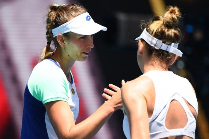 Australian Open: Geen kwartfinale voor Elise Mertens, wel nog kans in dubbelspel