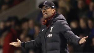 Klopp boycot FA Cup door overvol programma