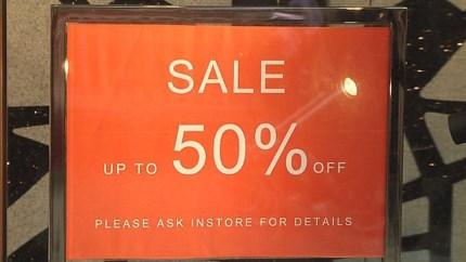 Wintersolden zijn geen succes: 5 procent minder verkocht