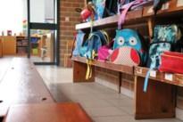Kleuters voor het eerst naar school