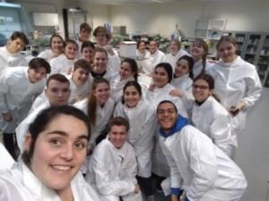 Zesdejaars SHD doen onderzoek in labo's van UHasselt