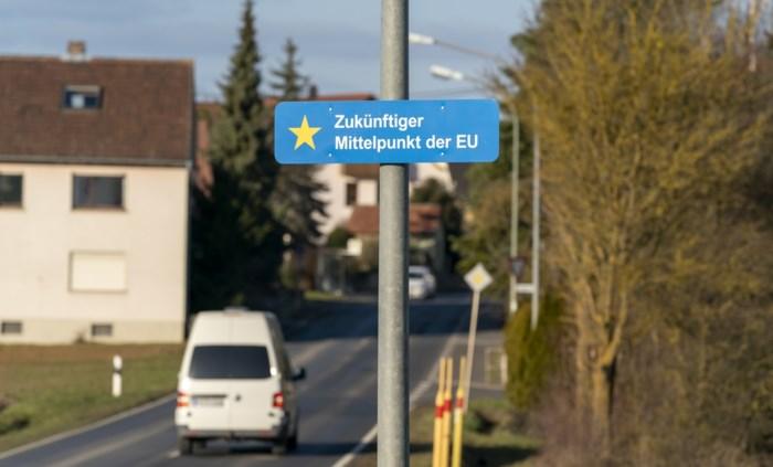 Dit dorpje wordt na Brexit nieuw geografisch centrum van Europese Unie