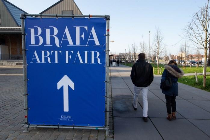 Kunstwerken in beslag genomen tijdens kunstbeurs Brafa