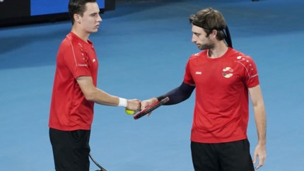 Geen halve finale voor Joran Vliegen in gemengd dubbel Australian Open