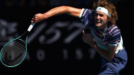 Zverev klopt Wawrinka in kwartfinales Australian Open