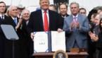 Trump zet handtekening onder nieuwe handelsdeal USMCA