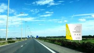 Nieuwe borden heten automobilisten welkom in Vlaanderen