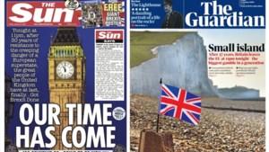 Britse kranten op dag van Brexit: euforie, maar ook kritiek