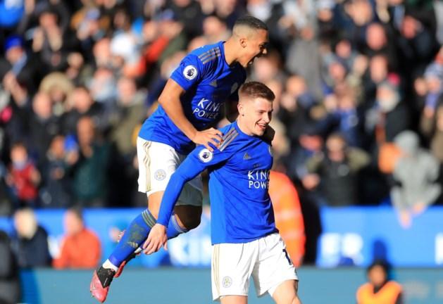 Leicester en Chelsea delen de punten na spectaculaire tweede helft: Tielemans deelt twee assists uit