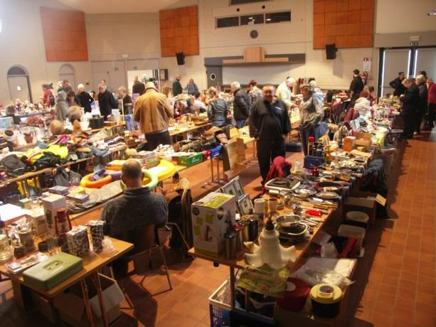 500 bezoekers voor de indoorrommelmarkt Heppen