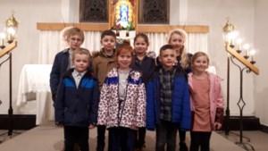 Kinderen vertolken de hoofdrol in Lichtmisviering