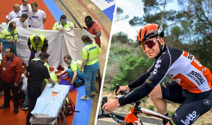 Na doodsmak op Gentse Zesdaagse zit Genkenaar Gerben Thijssen weer op de fiets