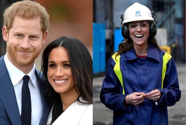 ROYALS. Kate Middleton ruilt jurk voor overall, Madonna moeit zich met Harry en Meghan
