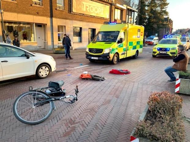 73-jarige fietsster kritiek na aanrijding in Zonhoven